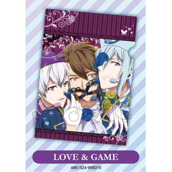 【アイナナ新グッズ】「フレフレ!青春賛歌」「LOVE&GAME」「男子タルモノ!~MATSURI~」の配信ジャケットを使用したクリアファイル