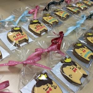 【AGF2016 アイドリッシュセブン】バンダイキャンディから「王様プリンのアイシングクッキー」登場!うさ耳パーカーシールとセットで♪
