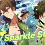 期間限定レアオーディション】一番くじ衣装グループA(二階堂大和&十龍之介)SSR[Happy Sparkle Star!]カード情報