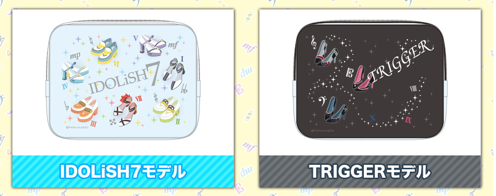 クリアポーチ(IDOLiSH7・TRIGGER)