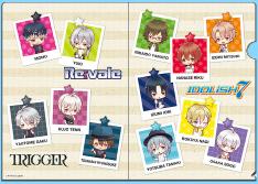 BOX購入特典 A5クリアファイル(ミニキャラ Ver.)