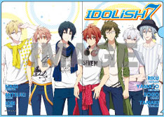 BOX購入特典 A5クリアファイル(IDOLiSH 7 Ver.)