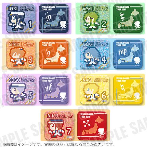 アイドリッシュセブンXアニON LIVE STATION2 ミニ缶バッジセット