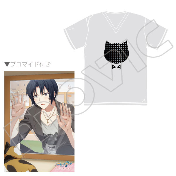 ブロマイド付き一織のネコTシャツ