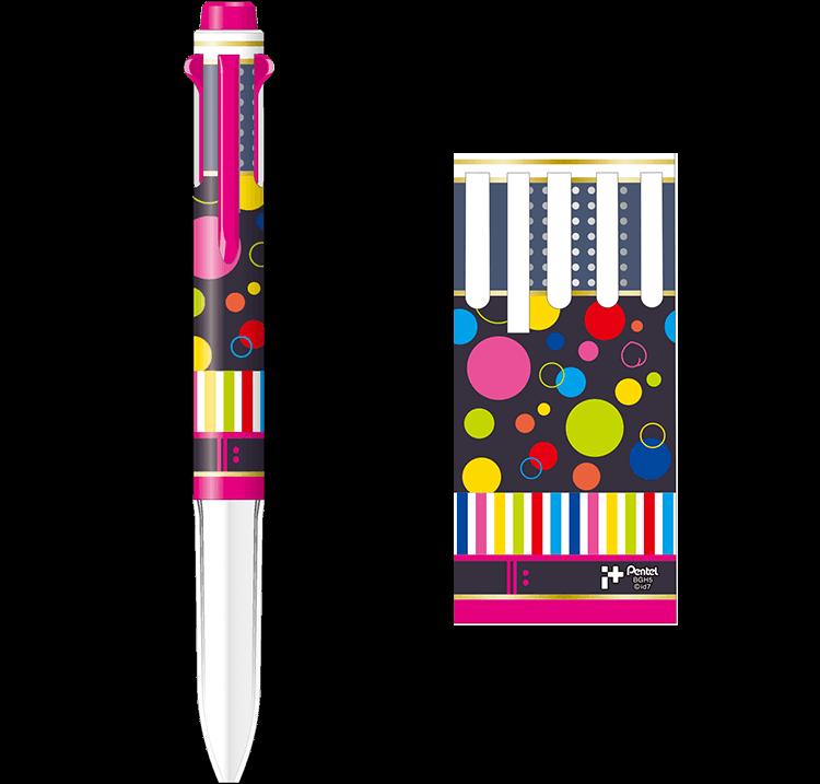百モデル あなたを。ハッピーにさせるペン。