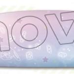 【アイナナ新グッズ】夢かわいいデザインのペンケース!きなこと音楽記号が普段使いもしやすく、透明なストーンつきでかわいい☆