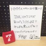 【アイナナコラボショップ】HMM×ナタリーストアにてメンバーの色紙展示中♪期間は27日まで!