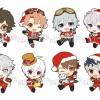 ぺたん娘 トレーディングラバーストラップ アイドリッシュセブン Vol.3にクリスマス・サンタ衣装バージョンが登場!