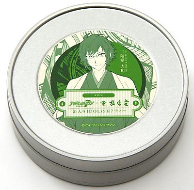 <放香堂>缶入りIDOLiSH7ティー 大和(メロン)