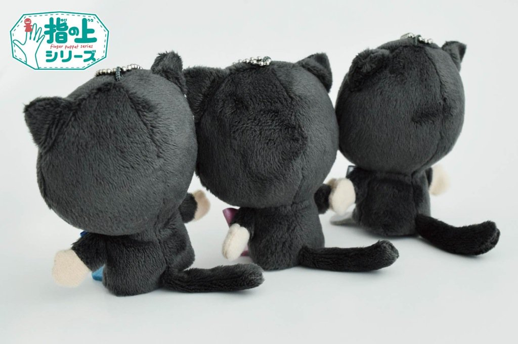 【アイナナ新グッズ】きなこや猫、鳥のきぐるみに身を包んだカワイイ「指の上シリーズ」ぬいぐるみが登場!
